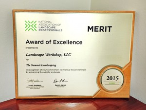Landscape Workshop Wins Award of Excellence from NALP