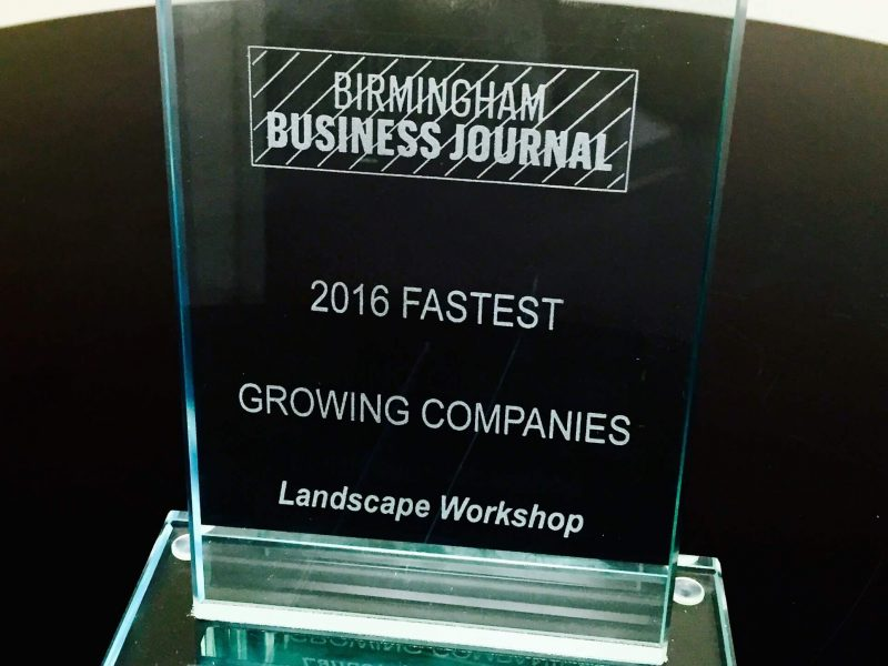Top 30 Birmingham Business: Landscape Workshop