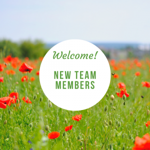 Welcome New Team Members