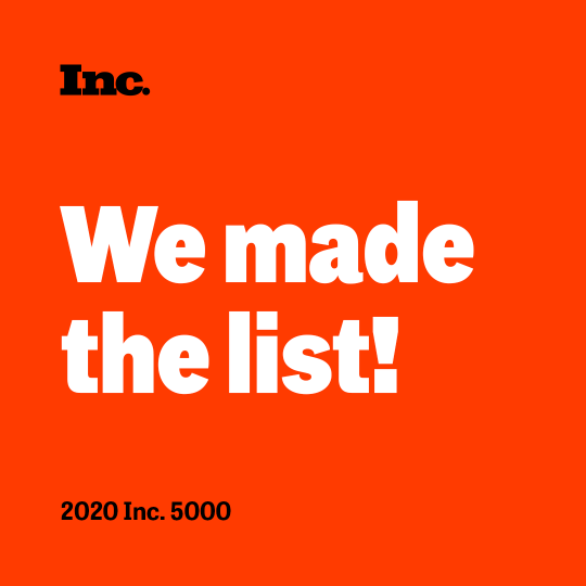 LW Makes the Inc. 5000 List