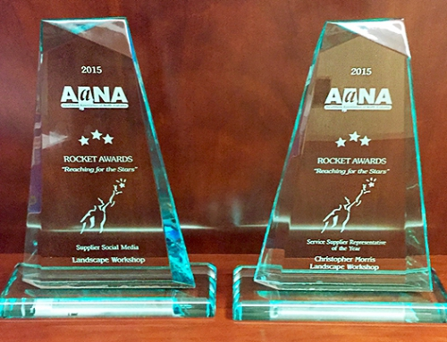 Landscape Workshop Receives Two Awards From AANA
