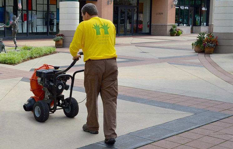 Our Billy Goat power blowers keep your sidewalks clean
